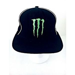 Monster Energy Baseball Cap Black Small to Medium